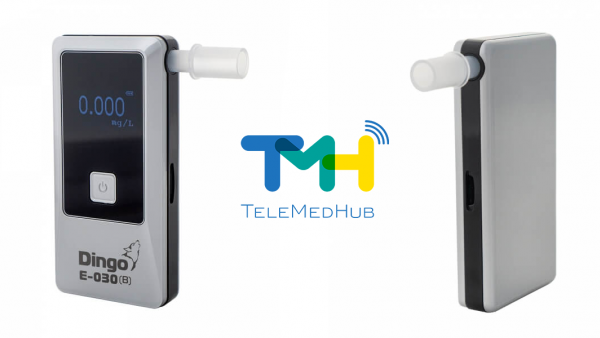 Алкотестер Динго Е-030 (B) теперь работает с ТелеМедХаб